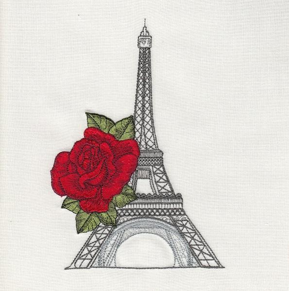 Eiffel Rose
