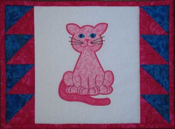 Contented Cats Applique Set 1 Large -6