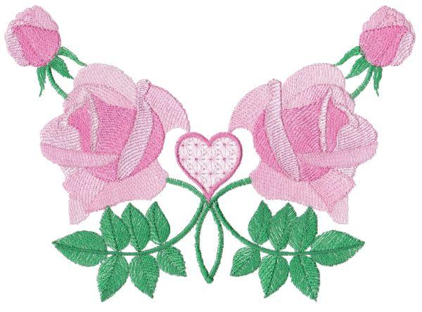 Romantic Lite Roses Large Set 1 -4