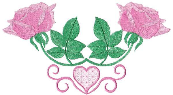 Romantic Lite Roses Large Set 1 -6