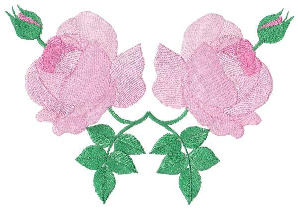 Romantic Lite Roses Large Set 1 -7