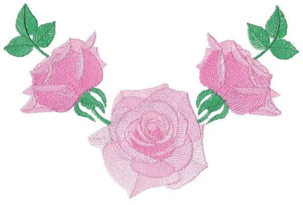 Romantic Lite Roses Large Set 1 -9
