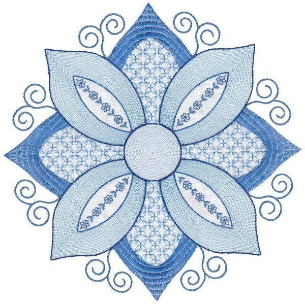 Crewel Blues Maxi-11