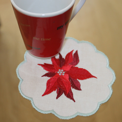 Table Runner December with Coaster-13