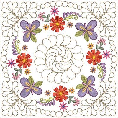 Mexican Folk Art Quilt Blocks 2-3