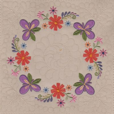 Mexican Folk Art Quilt Blocks 2-4