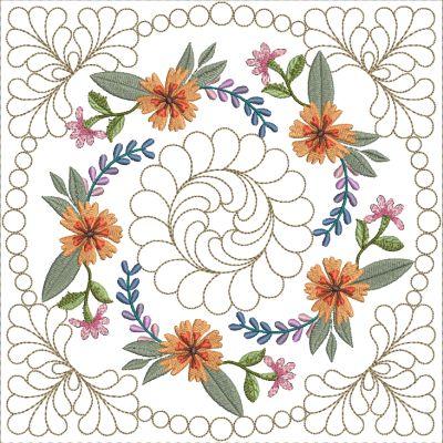 Mexican Folk Art Quilt Blocks 2-5