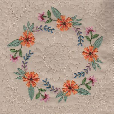 Mexican Folk Art Quilt Blocks 2-6