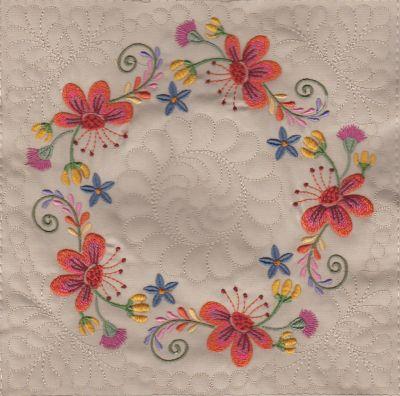 Mexican Folk Art Quilt Blocks 2-8