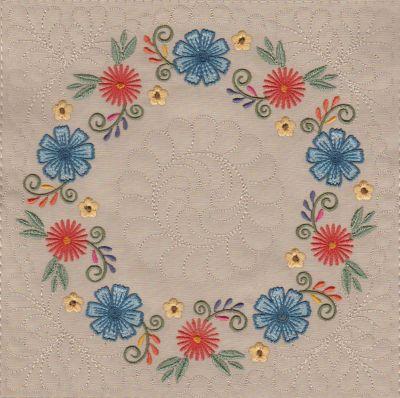 Mexican Folk Art Quilt Blocks 2-10