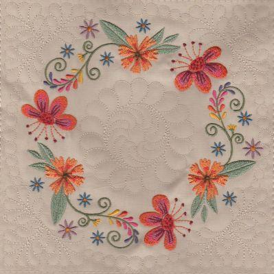 Mexican Folk Art Quilt Blocks 2-12