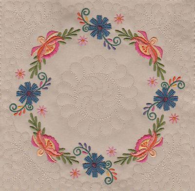Mexican Folk Art Quilt Blocks 2-14