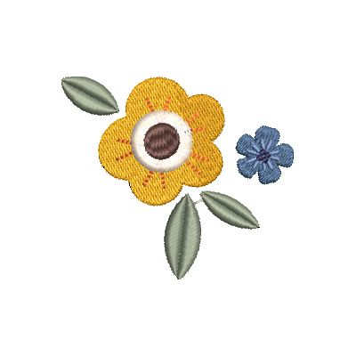 Folk Art Flowers Small-5