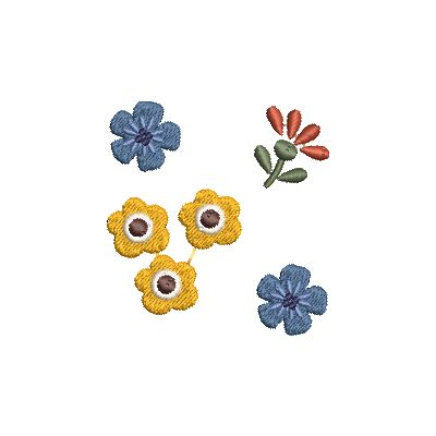 Folk Art Flowers Small-8