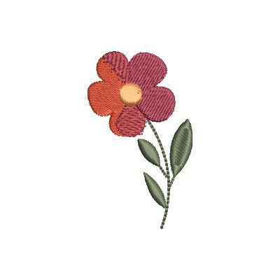 Folk Art Flowers Small-9