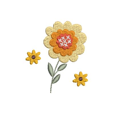 Folk Art Flowers Small-17