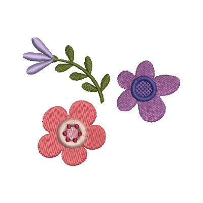 Folk Art Flowers Small-22