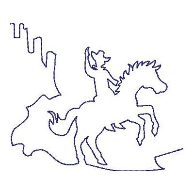 Wild West Quilt lines-15