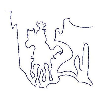 Wild West Quilt lines-21