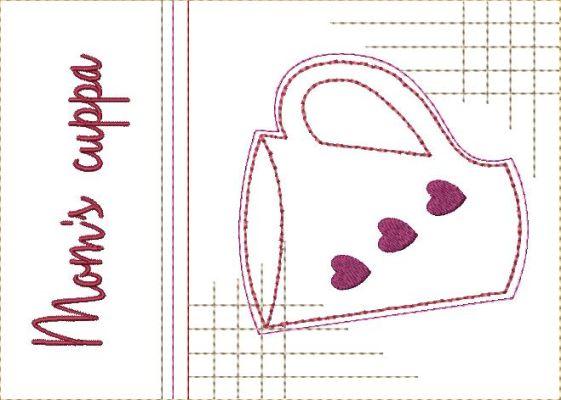 Mug Rugs for Mother-10