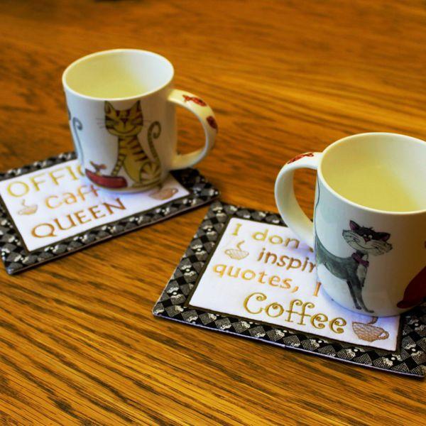 Coffee Mug Rugs