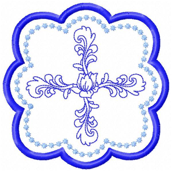 Fancy Cross Coasters