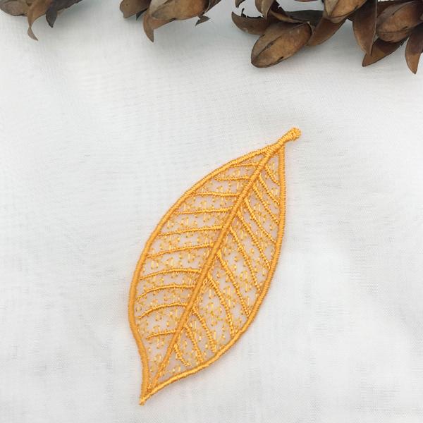Organza Leaves
