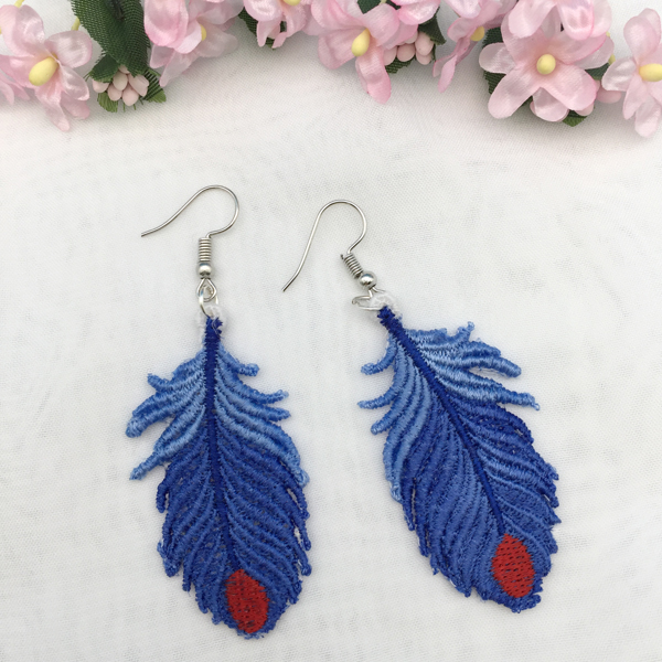FSL Feather Earrings