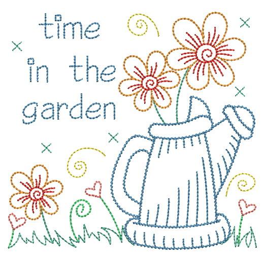 Vintage Garden Time 2