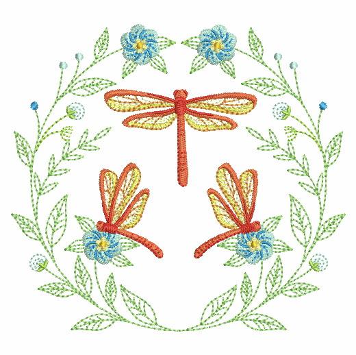 Spring Splendor Wreath-6