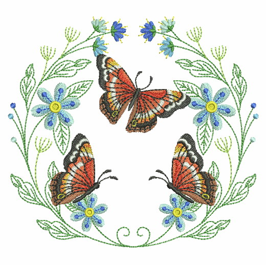 Spring Splendor Wreath-8