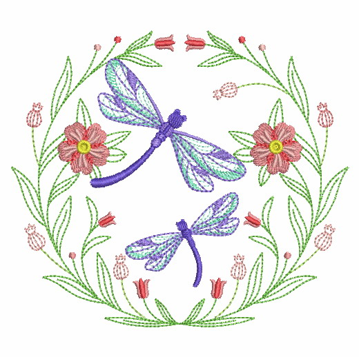 Spring Splendor Wreath-9