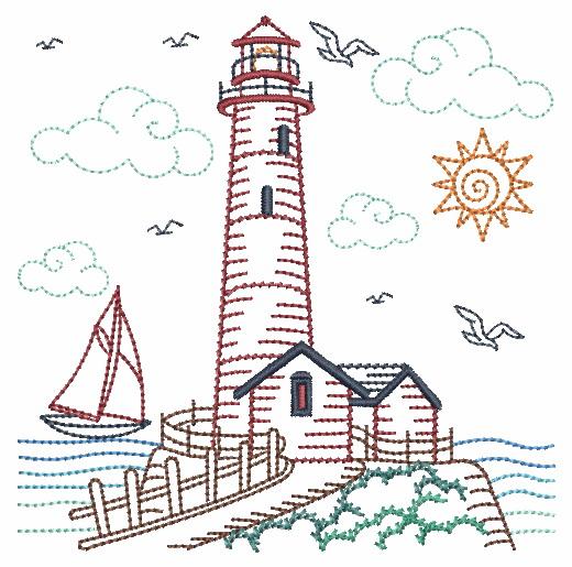 Vintage Lighthouses-3