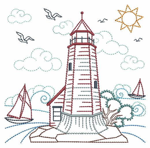 Vintage Lighthouses-6