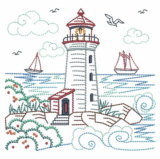 Vintage Lighthouses