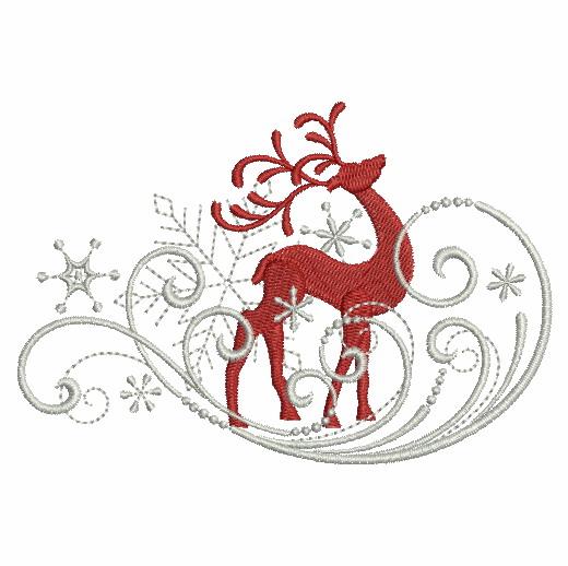 Filigree Christmas Ornaments 2-3