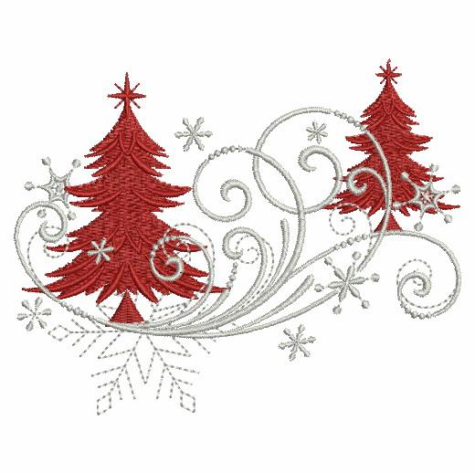 Filigree Christmas Ornaments 2-4