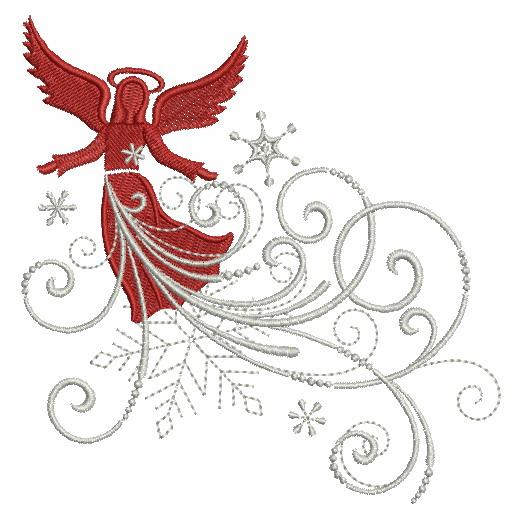 Filigree Christmas Ornaments 2-5