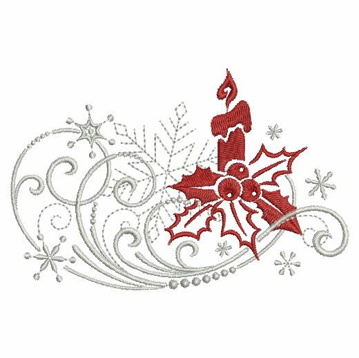 Filigree Christmas Ornaments 2-6