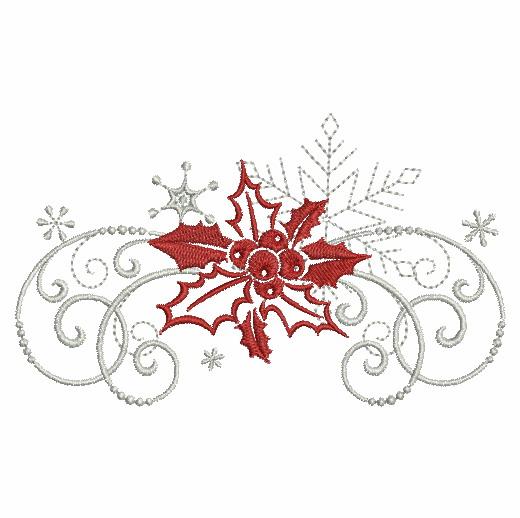 Filigree Christmas Ornaments 2-7