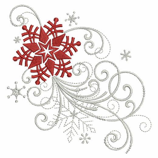 Filigree Christmas Ornaments 2-9