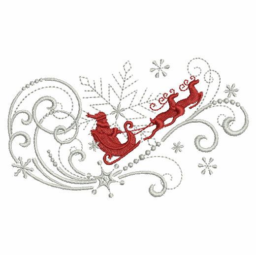 Filigree Christmas Ornaments 2-11