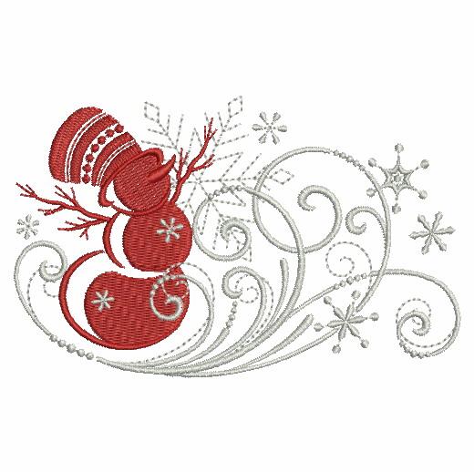 Filigree Christmas Ornaments 2-12