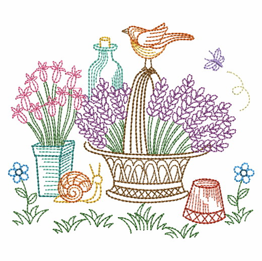 Vintage Garden Time 3-3