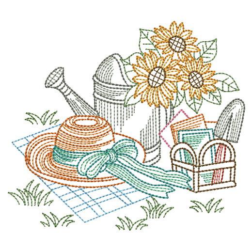 Vintage Garden Time 3-5