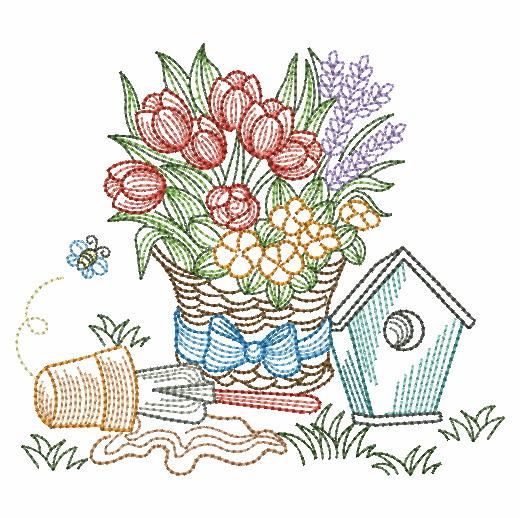 Vintage Garden Time 3-12