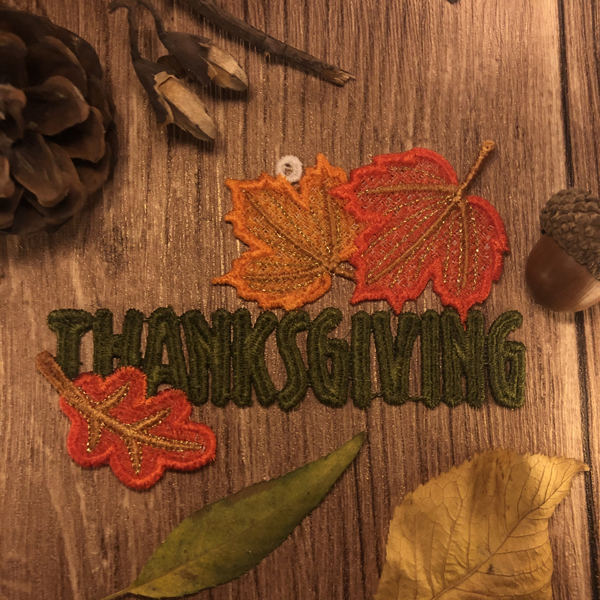 FSL Thanksgiving Ornaments 2-8