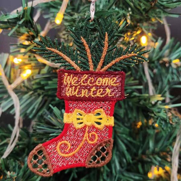 FSL Christmas Ornaments 16-6