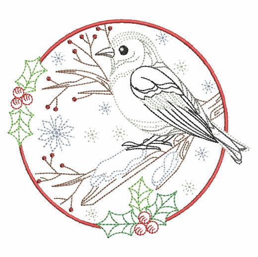 Vintage Winter Birds-12