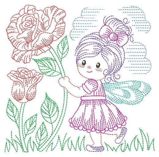 Vintage Flower Fairy-3